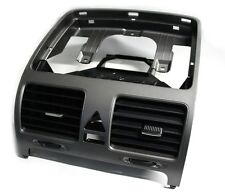 VW Golf 5 Luftdüse Edelstahl Optik, mitte Original Dekor Verkleidung OEM