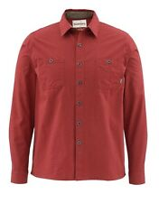 Simms BLACK'S FORD Flannel Shirt ~ Ruby NEW ~ Size Medium ~ CLOSEOUT