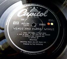 WINGS Venus And Mars 1975 UK ORIGINAL VINYL *COMPLETE* MINT