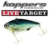 Live Target Jerkbait SKT160S129 Sucker White Natural Metallic 6.25 Inch