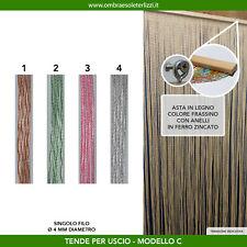 Tenda a fili pvc vari colori uscio porta finestra moschiera antimosche insetti