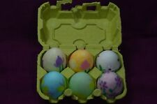 GENUINE ALABASTER EASTER EGGS ~ MADE IN ITALY ~ HAND PAINTED ~ SET OF 6