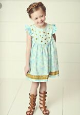 Girls Matilda Jane Hello Lovely All A flutter Dress Size 8 Adorable New!!