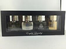 ENGLISH LAUNDRY 4 PCS COLLECTION SET FOR MEN 2.4OZ 4x0.6OZ EACH  NEW IN BOX