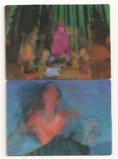 Disney Pocahontas Moving Animation Insert  Card Set (2)  1995 Skybox