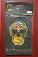 24 Dia De Los Muertos / Day Of The Dead Sugar Skull Treat Candy Bags Halloween