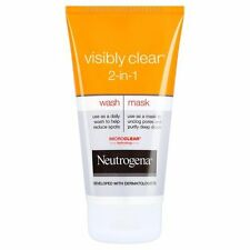 Neutrogena Visibly Clear 2-in1 Wash and Mask, 150ml