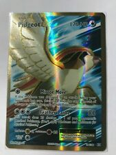 Pidgeot EX Full ART ULTRA RARE 104/108 XY Evolutions Pokemon Card HOLO NM