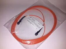 LWL Duplex Patch Kabel MTRJ-MTRJ | Glasfaser | 10 m | 50 / 125 µm | Telegärtner
