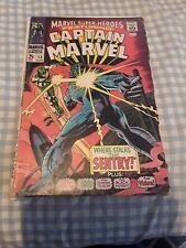 Marvel Super-Heroes #13 Gd 2.0 1st Carol Danvers Appearance