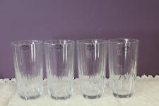 SET OF 4 X 8 OZ. HOME ESSENTIALS BEVERAGE GLASSES