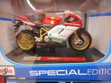 Véhicules miniatures jaune sous boîte fermée pour Ducati