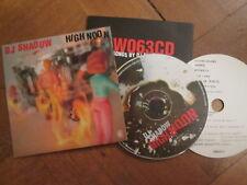 DJ Shadow – High Noon - UK CD Single Mo Wax 1997