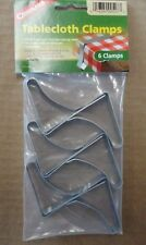 Tablecloth Clamps, Rust Resistant Spring Steel, 6 pack