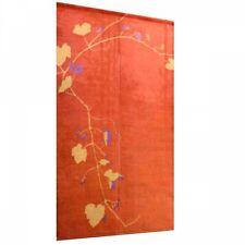 Kyoto Noren Japanese hanging curtain hand dye art nouveau Wild grape japan