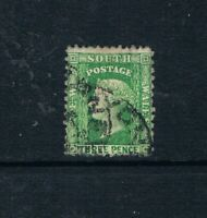 New South Wales - 1902 - 3d QV - Green - Perf 12x11 - SC 54d [SG 211e] USED 21