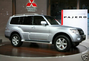 MITSUBISHI PAJERO STAINLESS STEEL EXHAUST SYSTEM-FITTED