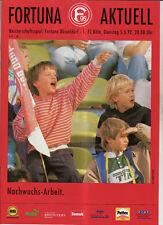 BL 91/92 Fortuna Düsseldorf - 1. FC Köln