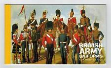 DX40  PRESTIGE BOOKLET BRITISH ARMY UNIFORMS STAMPS