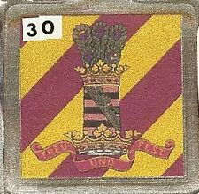 Acrylic Military Key Ring   11th. Hussars
