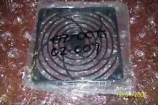 Fan Guards (Black Plastic) with Corner Hole Mount