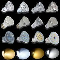UK 4/8/10/20 X 3/4/5/6/7W LED Spotlight SMD Bulbs GU10/MR16/E27 Day/ Warm White