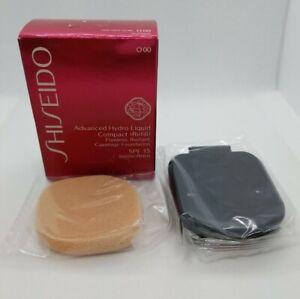 Shiseido Advanced Hydro-Liquid Compact Refill SPF 15 Very Light Ochre O00 NIB