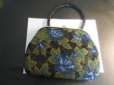 "Vintage Beaded Bag-10"" X 7"" X 1 1/2"""