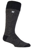 Heat Holders - Mens Winter Warm Thermal Thick Tall Boot Knee High Socks 7-12 US