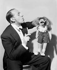 OLD TV RADIO PHOTO Ventriloquist Senor Wences & puppet 1