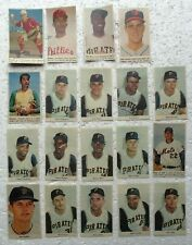Pittsburgh Pirates & Other 1960's Color Sunday Newspaper Clippings - Card Sizes