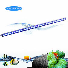 81W led aquarium light strip bar blue spectrum fish reef coral SPS tank lighting