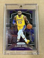 LEBRON JAMES LAKERS #129 2019-20 PANINI PRIZM  BASE 📈 PSA 10? HOT🔥 🔥 🔥