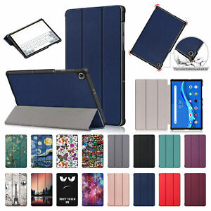 """For Lenovo Tab M10 HD 2nd Gen TB-X306F X306X 10.1"""" Smart Case Leather Flip Cover"""