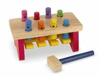 Pounding Bench Melissa & Doug Deluxe Wooden Hammer Game for Youngsters - 14490
