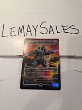 MECHAGODZILLA, BATTLE FORTRESS (HANGERBACK WALKER) *FOIL* PROMO - MTG NM/M