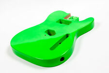 Cuerpo verde guitarra Telecaster caoba - Green Mahogany TL electric guitar body