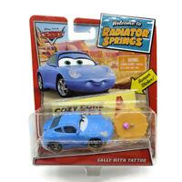Disney Pixar Cars Radiator Springs Sally Die Cast Toy Rare Free Shipping