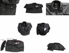 LAWPRO BY QUARTERMASTER DELUXE DUTY COAT POLICE JACKET w/ THINSULATE BLACK SMALL