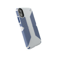 Speck Presidio Grip Case Cover for Apple iPhone XR Grey/Blue