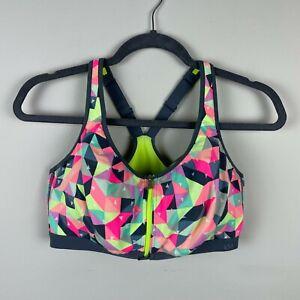 Victoria's Secret VSX High Impact Front Zipper Zip Underwire Sports Bra 38D