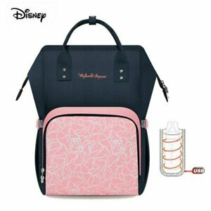 Disney Mickey Mouse Mommy Bag Backpack Baby Diaper Pushchair Diaper Bag*New