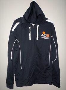 AUSTRALIAN COLLEGE OF BASKETBALL lrg hooded jacket Melbourne Sports coat ACB