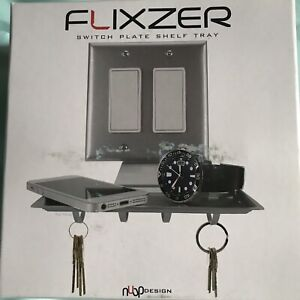 Flixzer Switch Plate Shelf Tray For Wallet Phone Keys Glasses