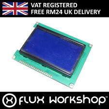 128x64 Blue Graphic LCD Module ST7920 12864B Raspberry Pi Arduino Flux Workshop