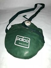 Vintage PALCO CANTEEN green nylon cover aluminum water bottle