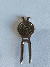 WEST WATERFORD GOLF CLUB DIVOT TOOL AND  MAGNETIC GOLF BALL MARKER