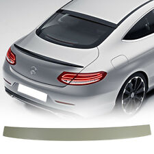 Mercedes BENZ C-Class C205 Coupe Painted ABS OE Look Rear Roof Spoiler