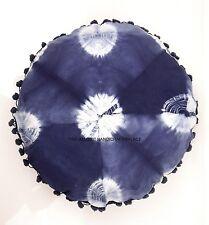 "Mandala Indian Tie Dye Blue 16"" Cushion Cover Throw Home Decor Pillow Case Boho"