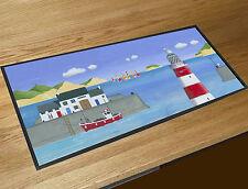 Martin Wiscombe Lighthouse bar runner home bar counter mat